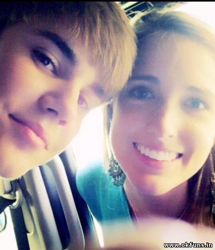 Justin Bieber and Amber Pic